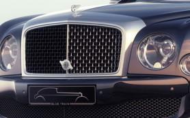 Bentley представила особый седан Mulsanne Speed Blue