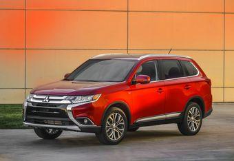 Обновленный Mitsubishi Outlander представили в Нью-Йорке