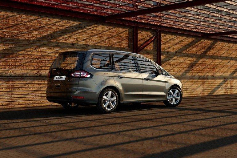 Представлен новый Ford Galaxy