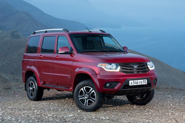Новые внедорожники УАЗ: очередные подробности