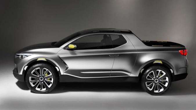 Hyundai просит не называть Santa Cruz пикапом