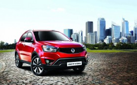 SsangYong распродает автомобили 2014 года со скидками до 20%