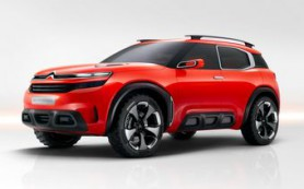 Citroen представил концептуальный кроссовер Aircross