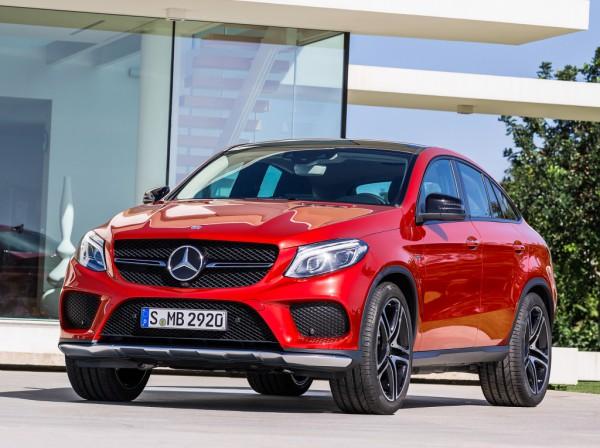 Компания Mercedes начала производство кроссовера GLE Coupe