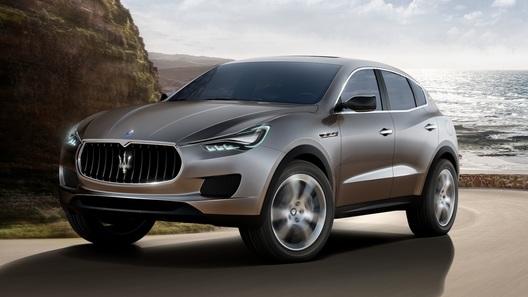 Первый кроссовер Maserati покажут миру через полгода