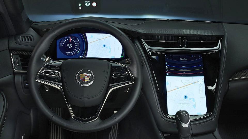 Mitsubishi показала на «Кадиллаке» новый мультимедийный комплекс