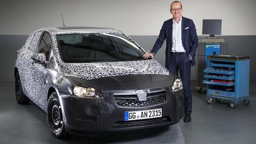 Opel намекнул на новую Astra