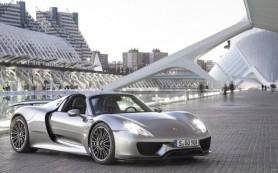 Суперкар Porsche 918 Spyder попал под очередной отзыв