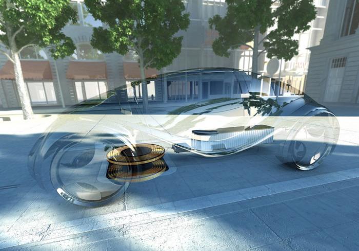 Электромобили будут заряжать без проводов