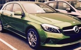 Обновленный Mercedes-Benz A-класса «открыл личико»