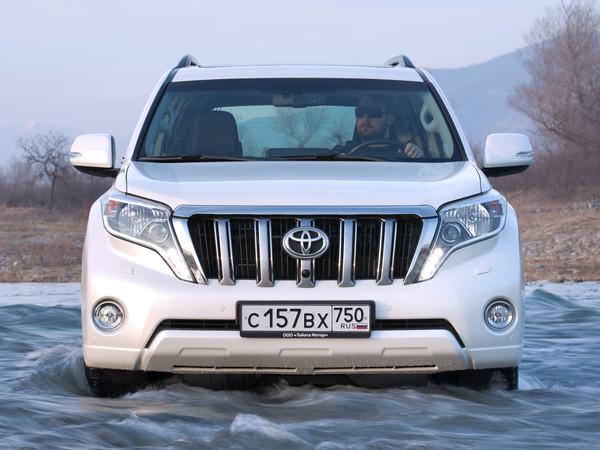 Toyota Land Cruiser Prado избавится от «тракторного» дизеля