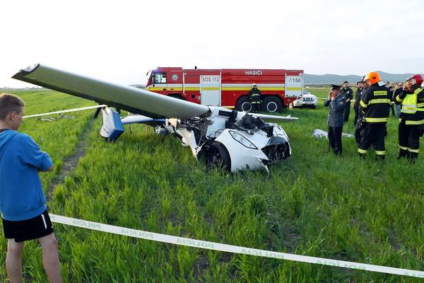 Летающий автомобиль: случилась первая автоавиакатастрофа