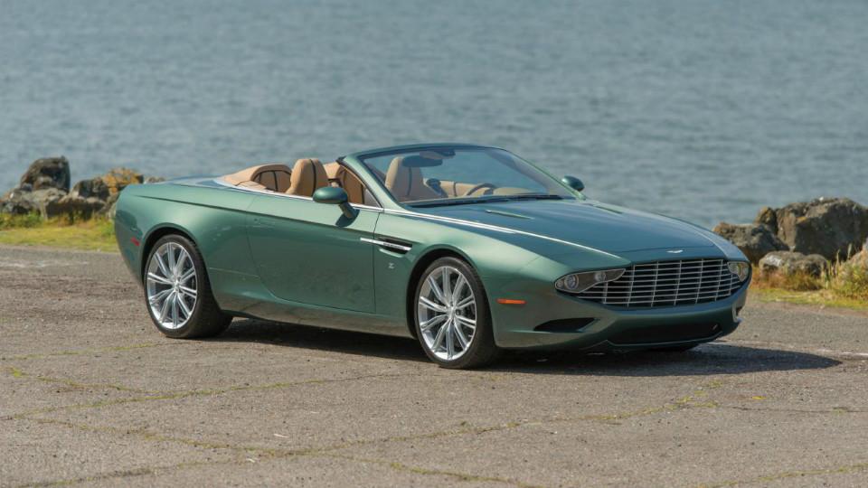 На аукционе продадут уникальный Aston Martin от ателье Zagato