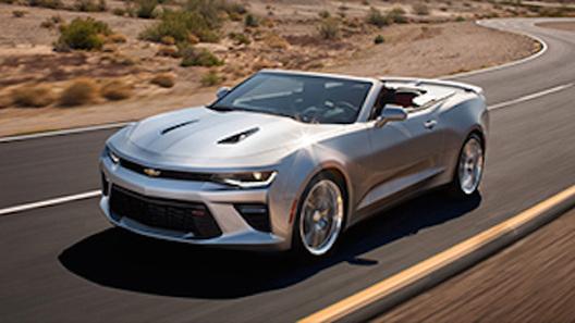 Появились первые изображения кабриолета Chevrolet Camaro