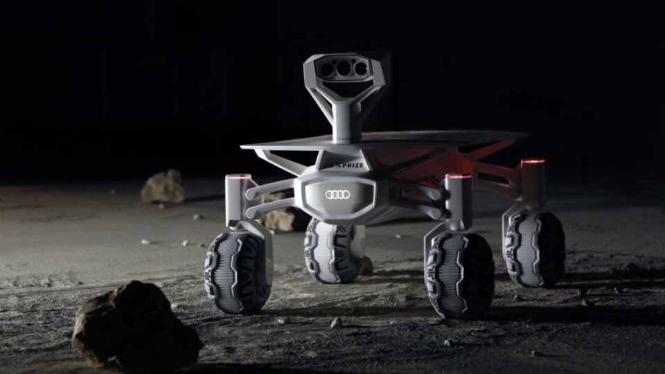 Компания Audi разработала луноход