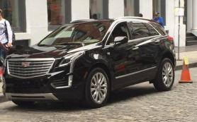 Новый кроссовер от Cadillac появился перед публикой
