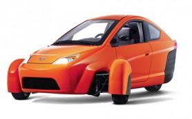 В США построили сверхэкономичный 3-колесный автомобиль