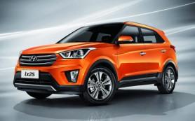 Маленький кроссовер Hyundai назовут Creta