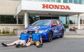 «Хонда» установила рекорд Гиннесса по самой экономичной езде