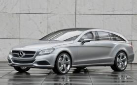 Mercedes-Benz CLS в кузове shooting brake отправится на свалку истории