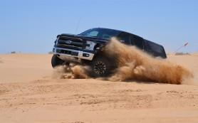 Ford F-150 Raptor стал ездить по пустыне на четверть быстрее