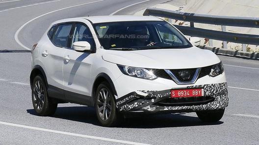 Nissan вывела на тесты загадочный Qashqai