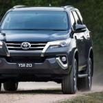 В Австралии официально представили внедорожник Toyota Fortuner