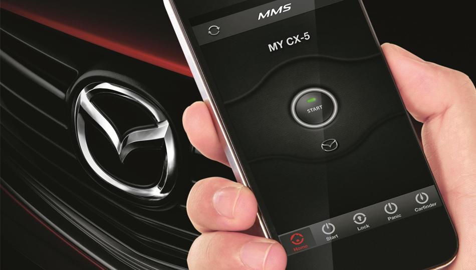 Mazda6 и CX-5 научились заводиться со смартфона