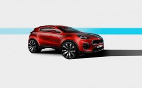 Компания Kia показала дизайн нового Sportage