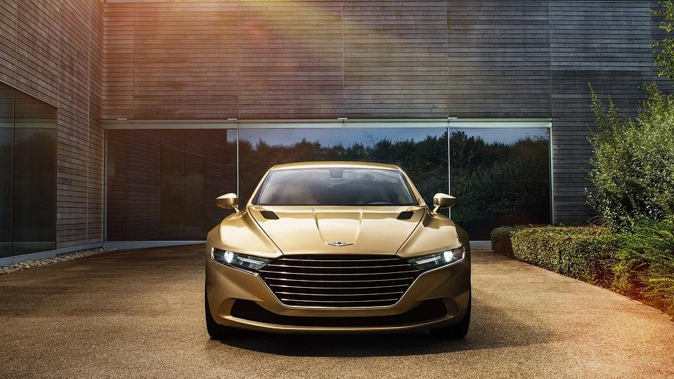Роскошный седан Aston Martin оценили в миллион евро