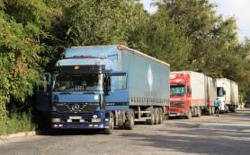 Дорога в Крым: из-за очередей дальнобойщики устроили бунт