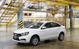 Стало известно оснащение серийного седана Lada Vesta
