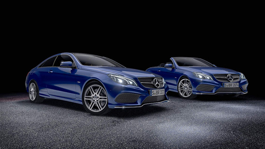 Mercedes выпустил спецверсии купе и кабриолета E-класса