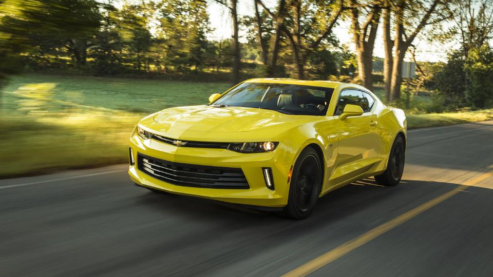Названы динамические характеристики нового Chevrolet Camaro