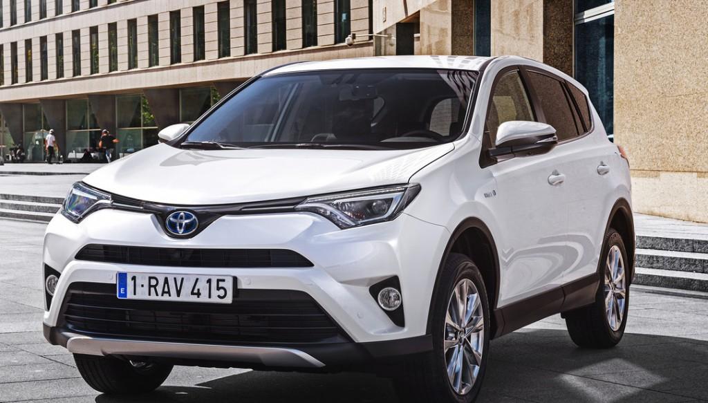 Toyota RAV4 сможет получать электричество из тепла