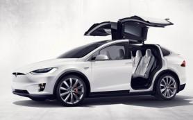 Tesla официально представила кроссовер Model X