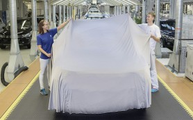 Новый Volkswagen Tiguan: производство началось