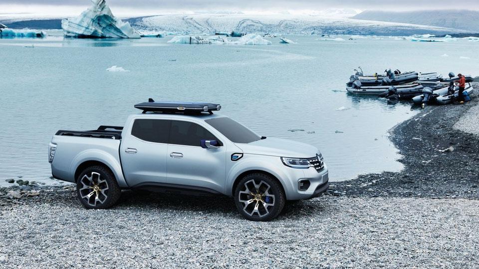 Компания Renault представила предвестника серийного пикапа