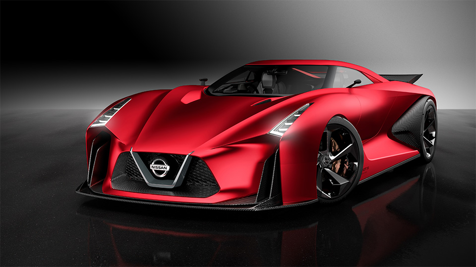 Nissan обновил предвестника следующего GT-R