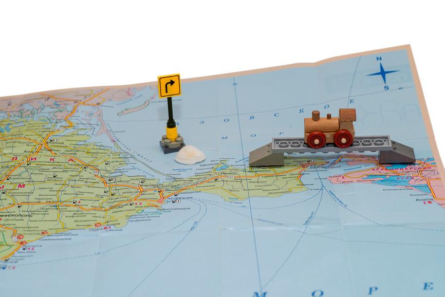 Первый мост в Крым: его уже построили