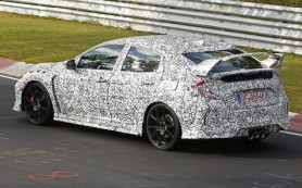 Honda уже тестирует новейший Civic Type R