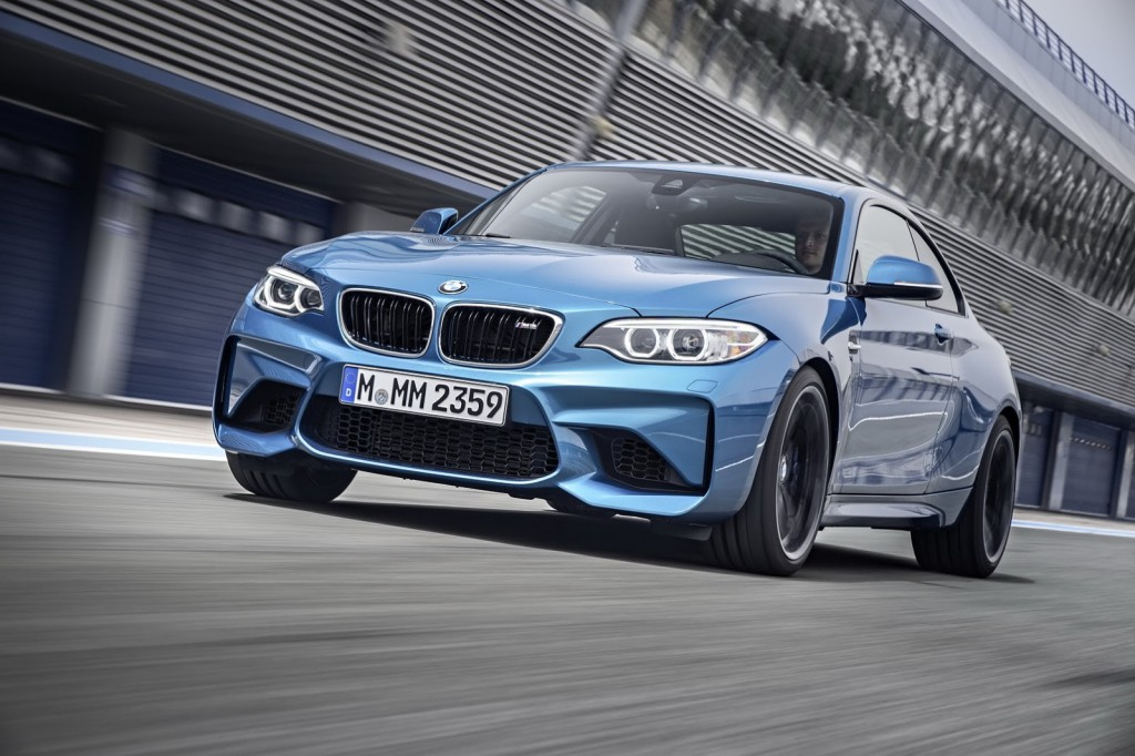 Купе BMW M2: официальная информация и фото