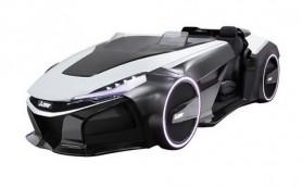 Новый концепт-кар Mitsubishi сможет похвастаться трехмерным дисплеем