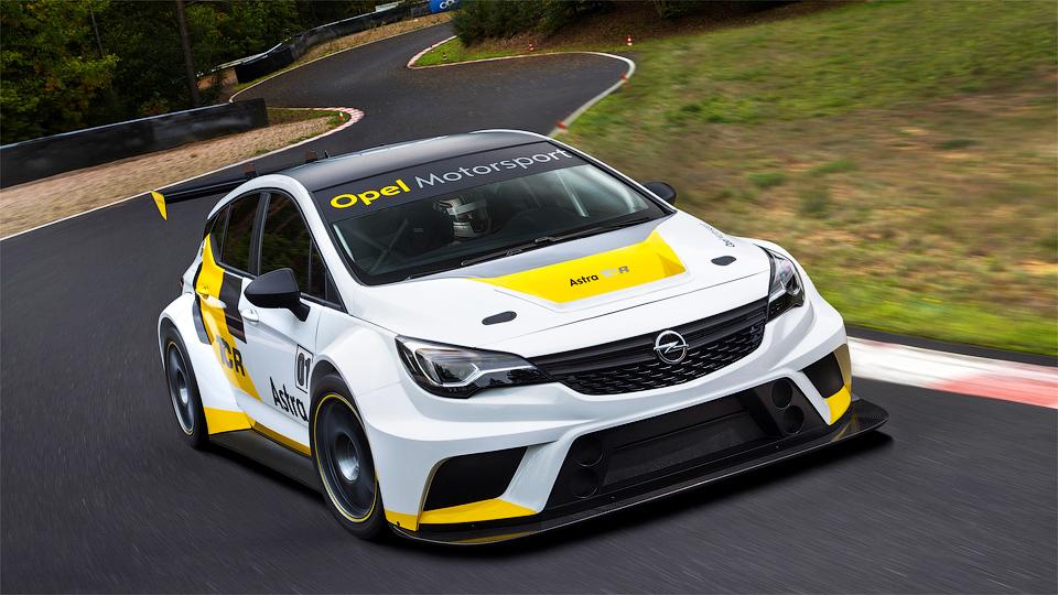 Opel построил гоночную «Астру»