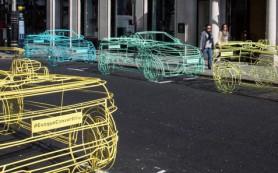 Land Rover рекламирует новый Evoque с помощью скелетов