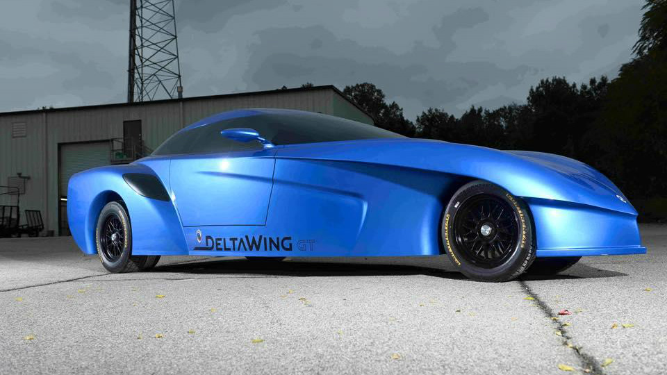 Американцы создали дорожный прототип треугольной машины