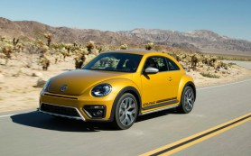 Volkswagen запустил в серию «вседорожный» Beetle