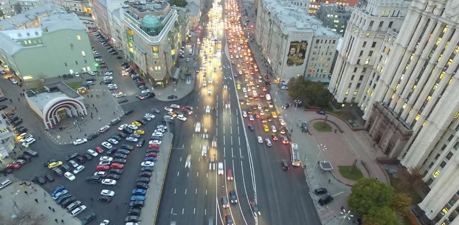 На дорогах Москвы появилась новая разметка
