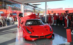 Компания Ferrari выпустила гоночные версии купе 488 GTB