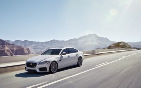 В России начат прием заказов на новый Jaguar XF
